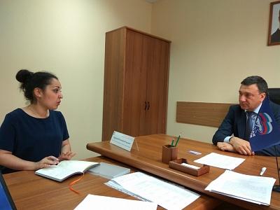 Прием граждан в РОППП Д. А. Медведева 20 июля 2017г
