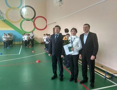 Владимир Афонский наградил учителей физической культуры