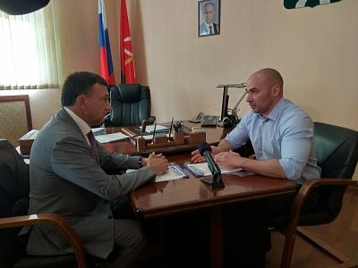 Встреча с заместителем главы администрации Алексеем Бирюлиным