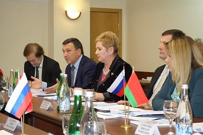 Заседание Комиссии Парламентского Собрания Союзного Государства Беларуси и России по информационной политике