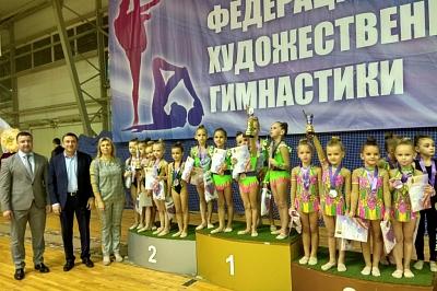 Открытый Кубок Тульской городской федерации художественной гимнастики