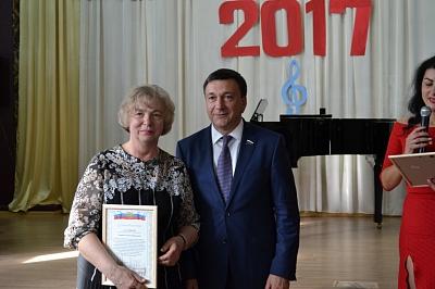 Выпускной в музыкальной школе в Кимовске 2017