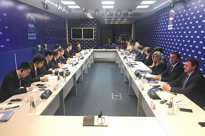 Встреча с делегацией компартии КНР