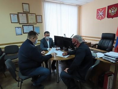 Владимир Афонский посетил Ясногорск с рабочим визитом