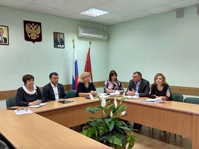 Встреча с жителями в администрации привокзального района
