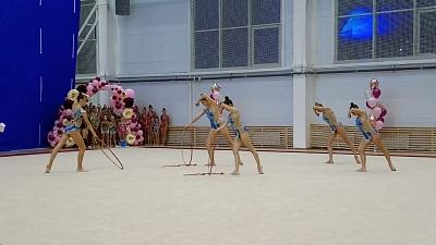 В Туле стартовал Открытый Кубок по художественной гимнастике