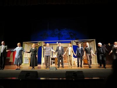 Туляки увидели спектакль Санкт-Петербургского театра имени Веры Комиссаржевской