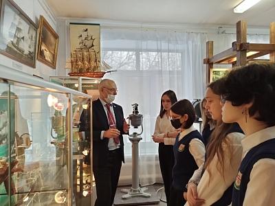 Открытие выставки «Окская барка: времена года»